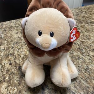 Ty lion beanie baby (bouncer)